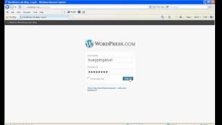 Bir Wordpress hesabı oluşturmak için nasıl