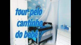 TOUR PELO CANTINHO DO BEBÊ RIQUELME/QUARTO COMPARTILHADO COM OS PAIS