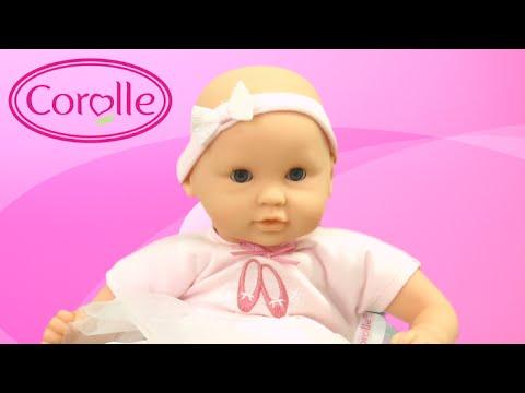 mon premier bebe calin ballerina doll from corolle youtube. Black Bedroom Furniture Sets. Home Design Ideas