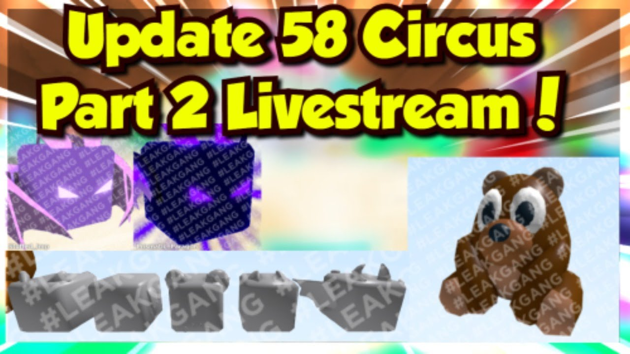 ROBLOX LIVE | BUBBLE GUM SIMULATOR UPDATE 58 PET GIVEAWAYS! | ROAD TO 10K