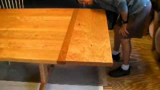 Part 1 Attaching Trestle Table Leaves With Timothy Clark, Cabinetmaker/chairwright