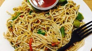 Egg Hakka Noodles   Egg Noodles Recipe   Fast Food   Easy Cooking