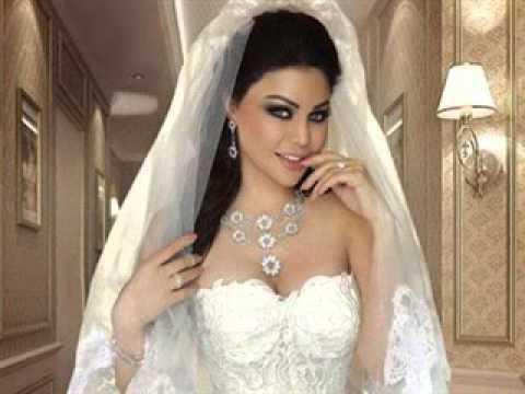 0a40c7ecf فساتين زفاف فخمة للفنانات أجمل فساتين زفاف المشاهير العرب والعالميين ...