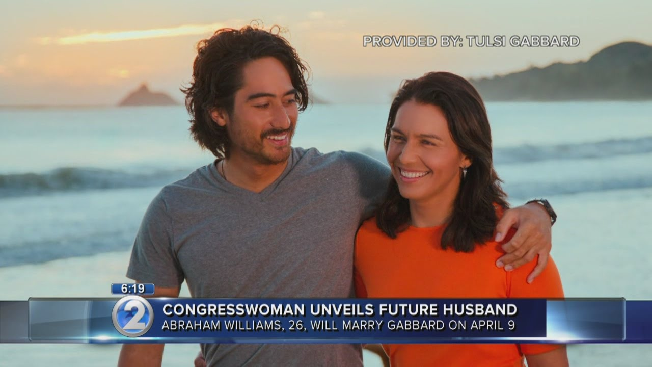 Rep. Tulsi Gabbard opens up about fiance, wedding plans