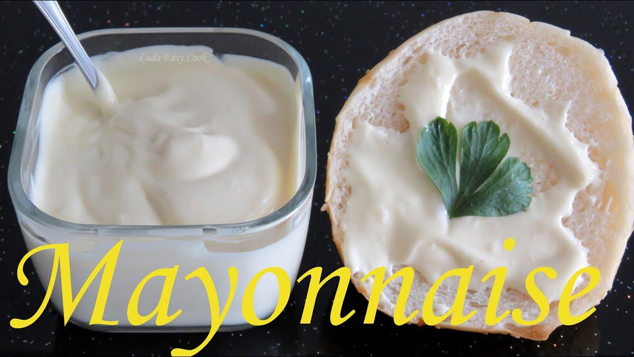 Домашний МАЙОНЕЗ за 5 минут #LudaEasyCook Mayonnaise Cách Làm Sốt Mayonnaise