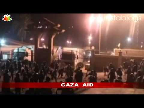 Egypt directs humanitarian aid for Gaza through Israel
