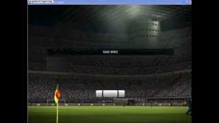 pes 2012 gameplay patch 25 squadre