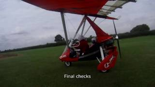 Precious Cargo Microlight Flight in a P & M Aviation QuikR