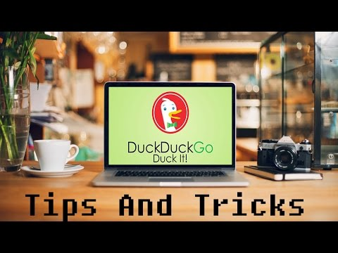"DUCKDUCKGO: The Browser Which Doesn't ""TRACK"" You 