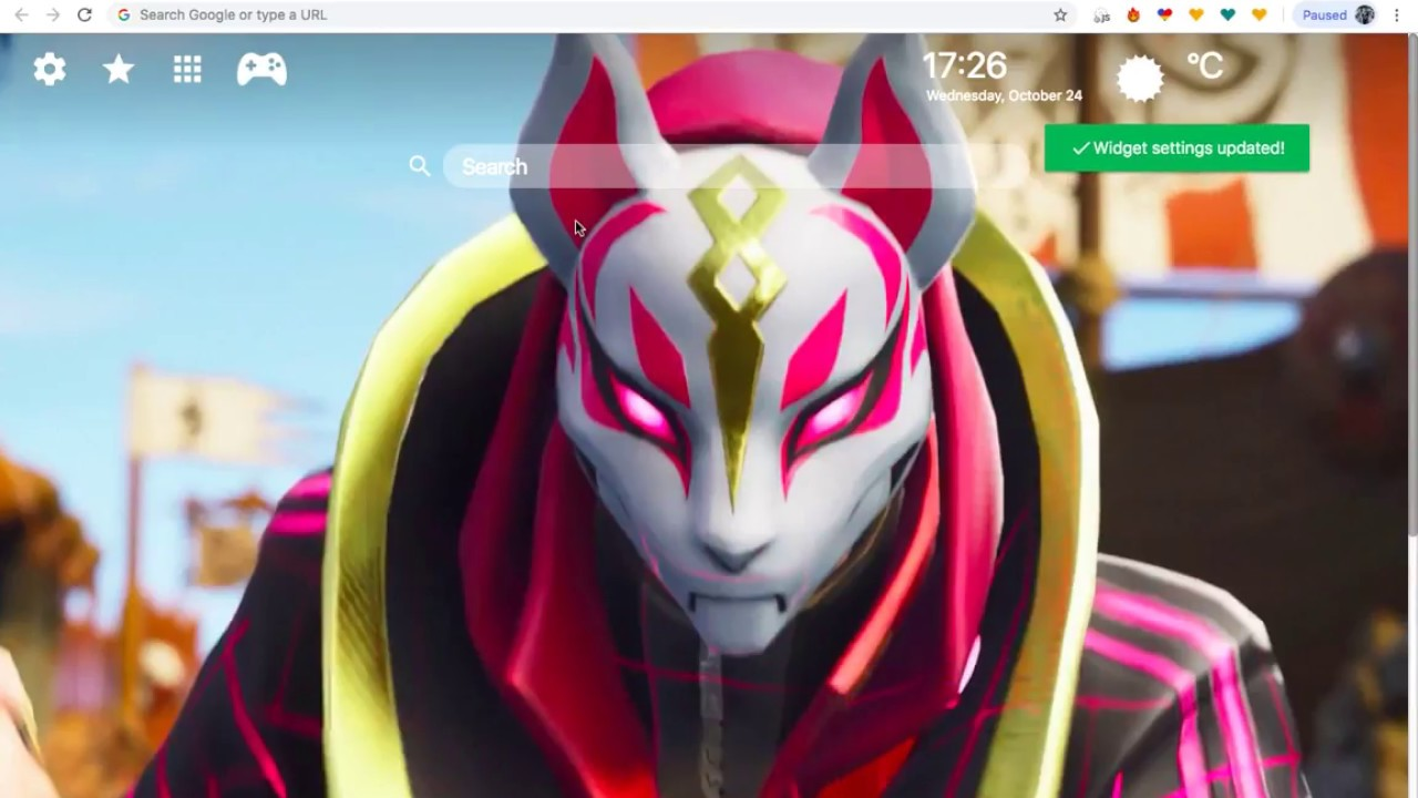 Fortnite Drift Hd Wallpaper New Tab Themes Youtube