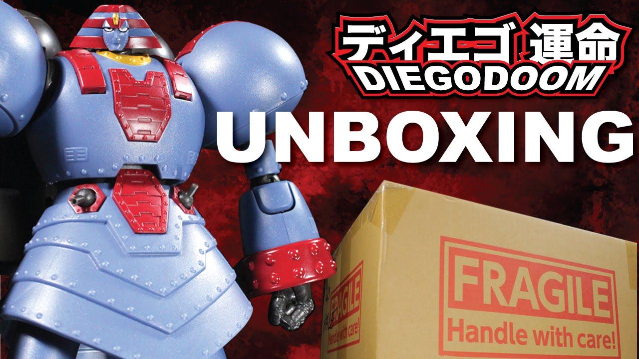 Bandai Super Robot Chogokin Giant Robo The Animation Version Action Figure