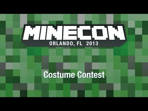 MINECON 2013 Costume Contest