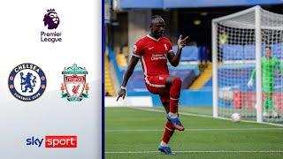 Mané nutzt Torwartzpatzer aus!  | FC Chelsea - FC Liverpool 0:2 | Highlights - Premier League 20/21