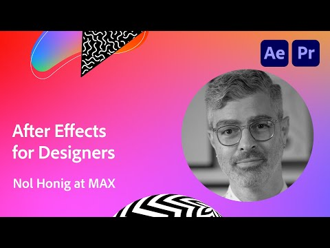 So You Want to Animate: After Effects for Designers from Nol Honig | Adobe Creative Cloud