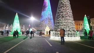 Самара пл.Куйбышева 4 часа до Нового Года!
