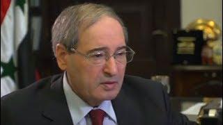 المقداد لبي بي سي: طرح الفيدرالية خيالي والحكومة متمسكة بكامل الأراضي السورية
