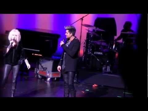 Mad World duet - Cyndi Lauper and Adam Lambert