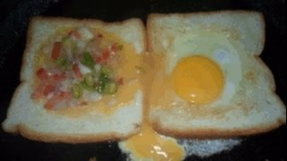 Bread omelette Sandwich -AAnma's Kitchen