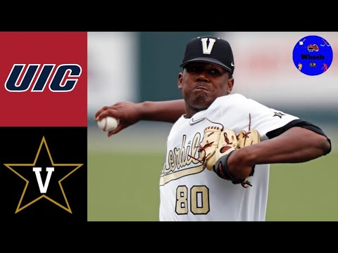 UIC vs #2 Vanderbilt Highlights (Kumar Rocker was DEALING!) | 2021 College Baseball Highlights