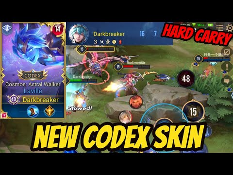 LAVILLE NEW SKIN COSMOS ASTRAL WALKER | AoV | 傳說對決 | RoV | Liên Quân Mobile