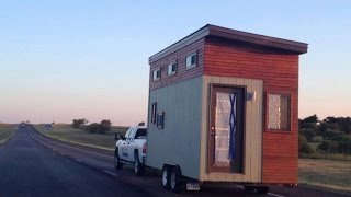 College Student Opts For Tiny House Rather Than Traditional Dorm Room