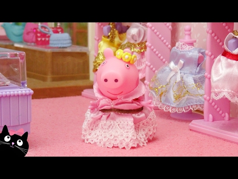 Peppa Pig en Español - Peppa Pig Compra Vestidos y Maquillaje en la Tienda Boutique Calico Critters