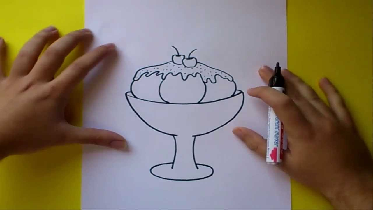 Como Hacer La Libreta De Dibujo De Marinetteprodigiosa: Como Dibujar Un Helado Paso A Paso 2