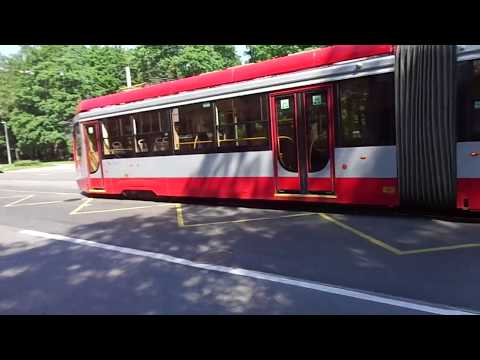 Трамвай Петербурга 9-576: 71-631-02.02 (УКВЗ) б.5225 по №55 (08.06.19)