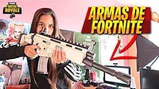 FORTNITE WEAPONS IN REAL LIFE!!! SCAR LEGENDARY FORTNITE IN REAL LIFE @ThaNix229