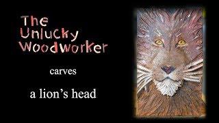 Carving a Lion's Head
