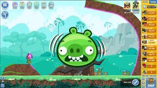 Angry Birds Friends Tournament 333-B Level 2 POWER UP Walkthrough