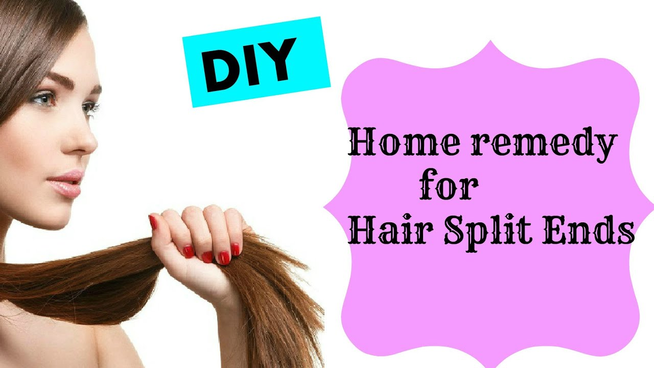 How To Get Rid Off Hair Split Ends Homemade Split End Treatment