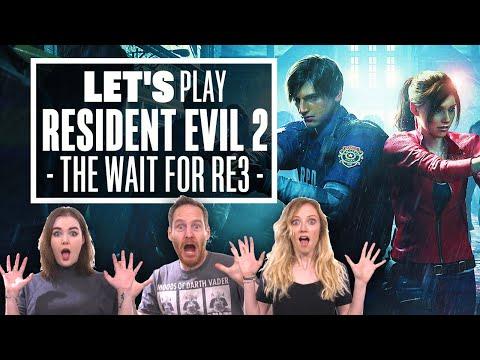 Let's Play Resident Evil 2: THE WAIT FOR THE RESIDENT EVIL 3 REMAKE