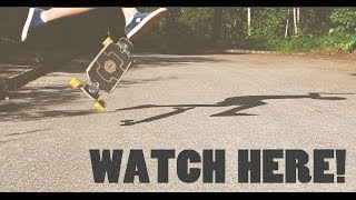 360 flips on longboards aint that easy