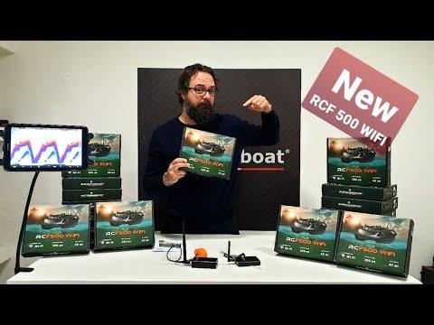 Fishfinder Wirelss Bait Boat RCF 500 WIFI