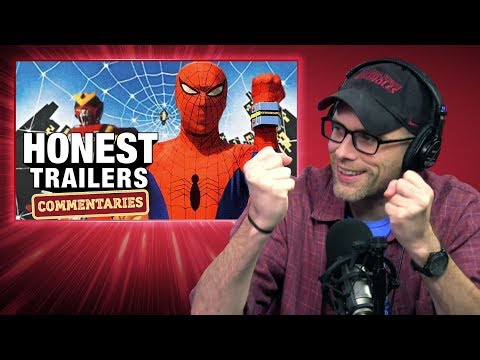 Honest Trailers Commentary - Japanese Spider-Man (Supaidāman)