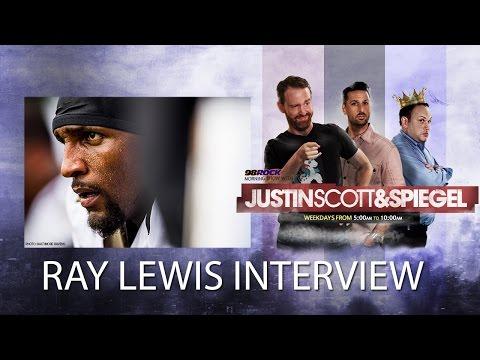 Justin Scott and Spiegel Interview Ray Lewis
