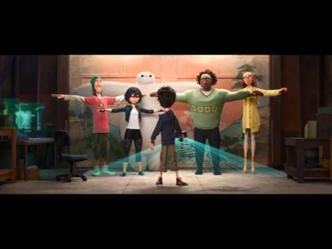 Big Hero 6 Official Japanese Trailer #2 (2014) - Disney Animation Movie HD