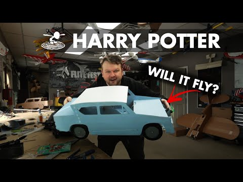 I will build a flying Harry Potter car...