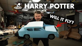 Real Life Flying Harry Potter Car