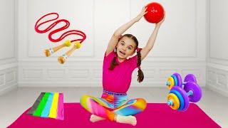 We ate too much |동요와 아이 노래 | 어린이 교육 | Polina Fun