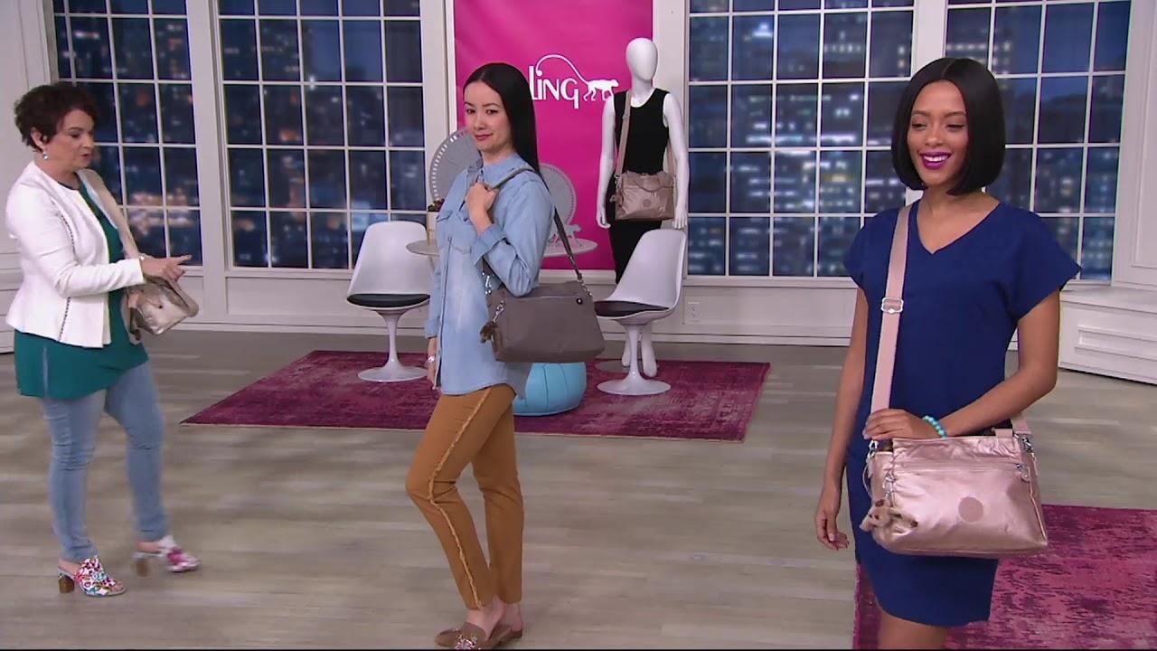 34ba6d7cfc Kipling Convertible Satchel Handbag - Elysia on QVC - YouTube