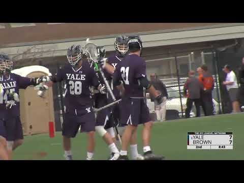 HIGHLIGHTS: Yale Men's Lacrosse nets 27 in rout of Brown