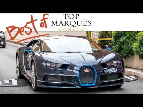 BEST OF TOP MARQUES MONACO 2017 - (Chiron, 3x LaF, Agera R, Reventon, 3x 918, 4x F40, etc ...)