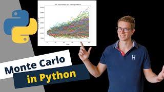 Monte Carlo Simulation of a Stock Portfolio with Python