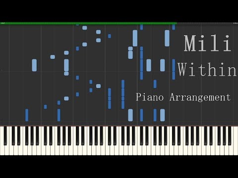 Mili  - Within (Goblin Slayer Episode 12 Insert Song) | Piano Arrangement | Synthesia