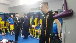 Excelentul discurs motivational al lui Ionut Radu, capitanul U21!