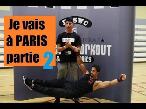 Street workout - PARIS partie 2