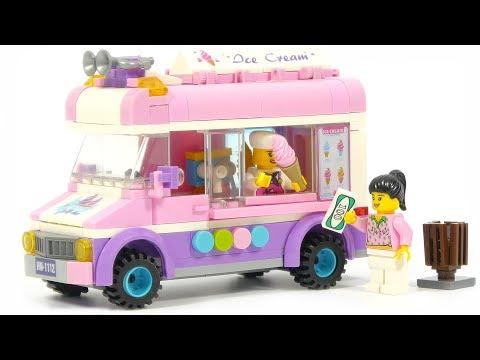 Enlighten Brick City 1112 Ice Cream Van