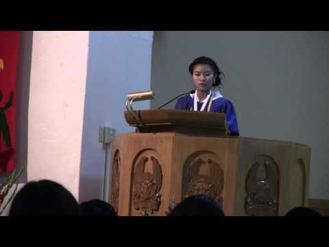 Valedictory Speech 2014 - San Gabriel Mission Elementary School